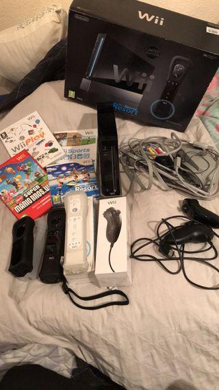 Wii y accesorios
