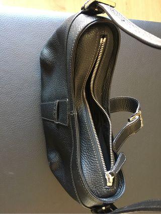 De Bolso Segunda Loewe Grabada Mano Negro Por Piel 239 PwOnkX08