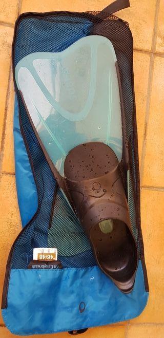aletas para snorkel