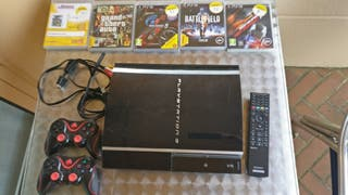 Consola PlayStation 3 con extras.