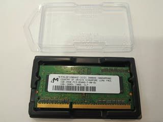 Memoria Ram 1GB SO-DIMM 8500 a 1066 MHz