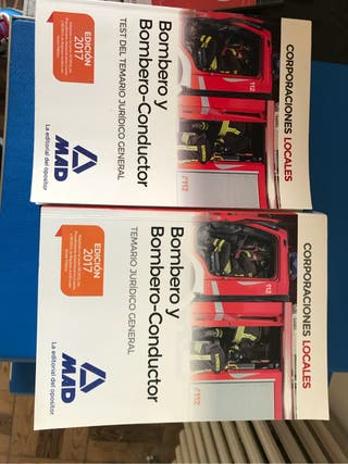 Libros oposicion bombero