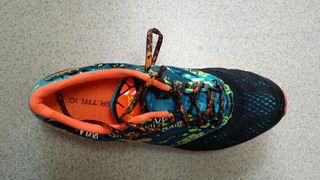 zapatillas ASICS NOOSA TRI 10 44.5 pero como 43.5