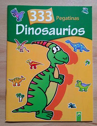 Libro Dinosaurios 333 pegatinas Nuevo