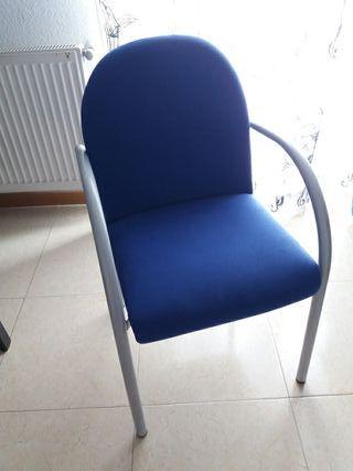 Sillas de escritorio sin brazos de segunda mano en wallapop for Sillas despacho segunda mano