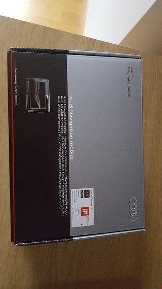 Navegador original Audi a estrenar