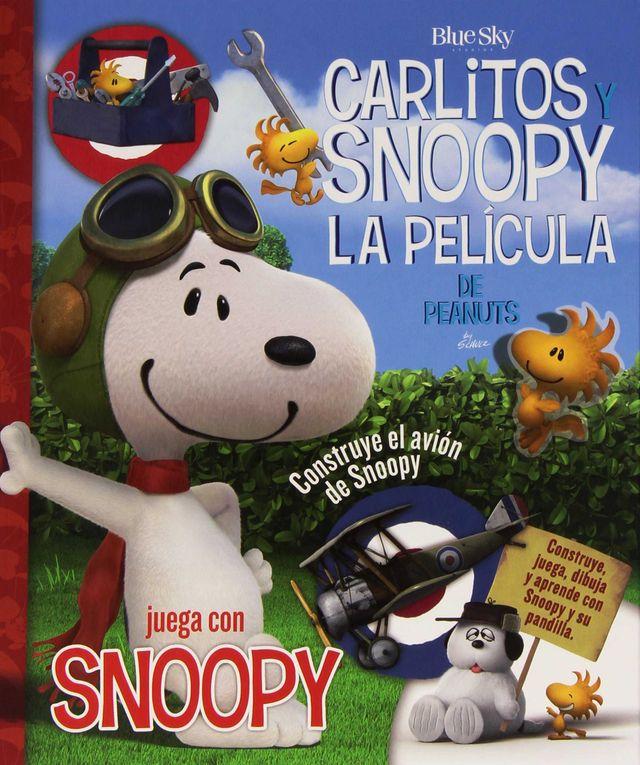 LIBRO DE ACTIVIDADES DE CARLITOS Y SNOOPY