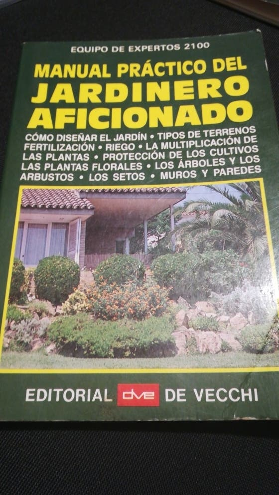 libro jardinera