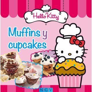 LIBRO MUFFINS Y CUPCAKES DE HELLO KITTY