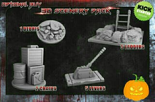 VAMPIRE HUNTERS PROMO EXCLUSIVA 3D SCENARY PACK