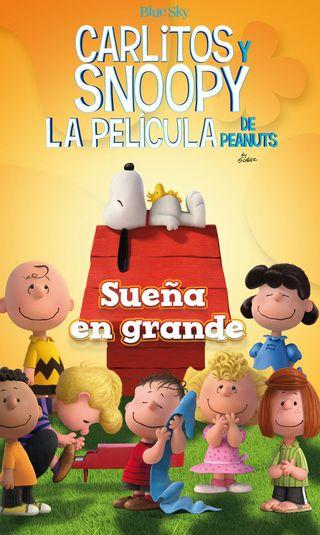 """LIBRO DE SNOOPY """"SUEÑA A LO GRANDE"""""""