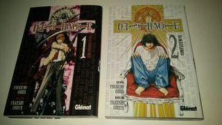 Death Note manga tomo 1 y 2