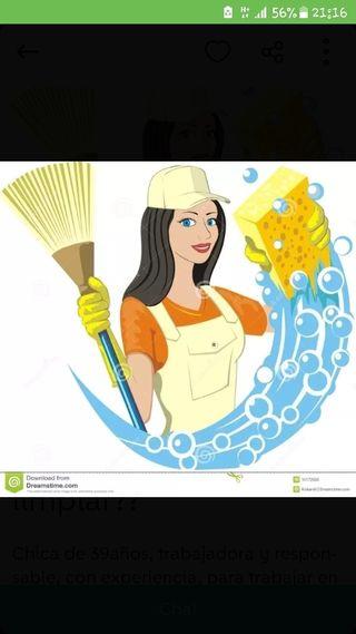 limpieza de hogar, y cuidado de ancianos y niños