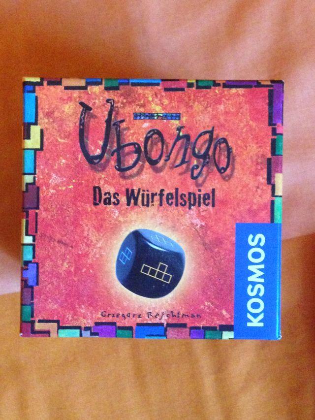 Ubongo Dados Juego De Mesa Tablero Cartas De Segunda Mano Por 7 En