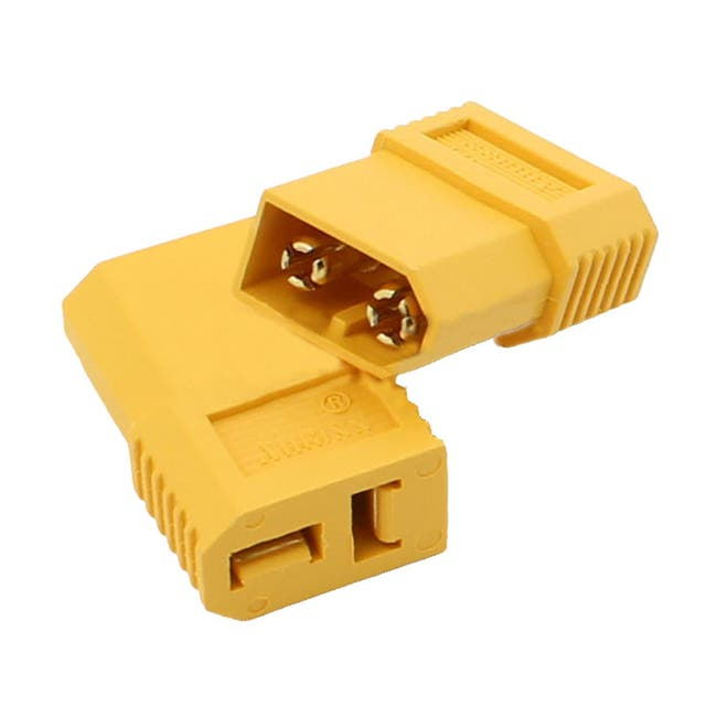Conector XT60-D Male to T-Dean Female Plug Female