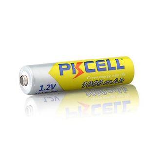 PKCELL 1.2v AAA 3A NiMH 1000mah AAA Baterías recar