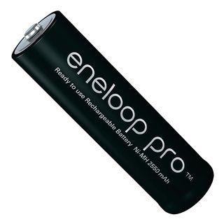 Panasonic AA 1.2V 2550mAh Eneloop Pro Baterías rec