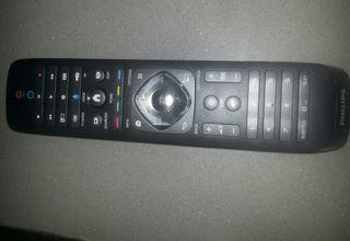 mando tv Philips con teclado qwerty nuevo
