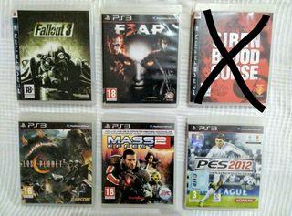 Lote de 5 juegazos de PS3. (OFERTA) PlayStation 3