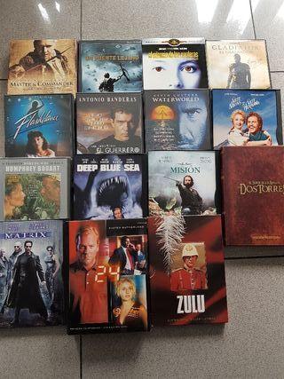 Peliculas DVD. desde 2 €... depende de la pelicula