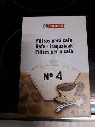 Flitros para café