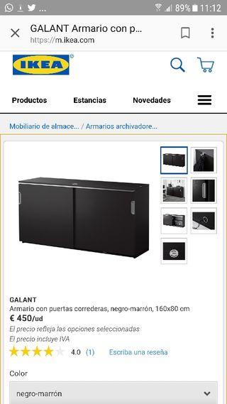 Mueble ikea aparadores de segunda mano en wallapop - Ikea mueble oficina ...