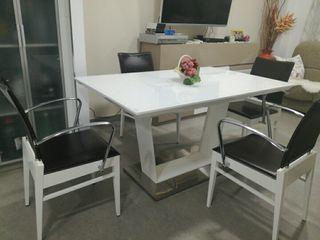 mesa comedor con 4 sillas opcionales