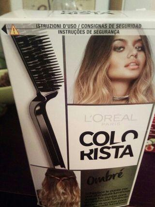 Tinte cabello mechas