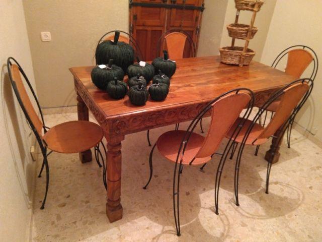 Mesa comedor antigua restaurada de segunda mano por 300 € en ...