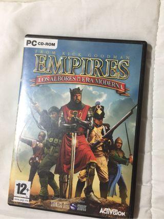 Empires los albores de la era moderna (PC)