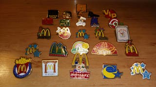 Exclusivos Pins de McDonalds