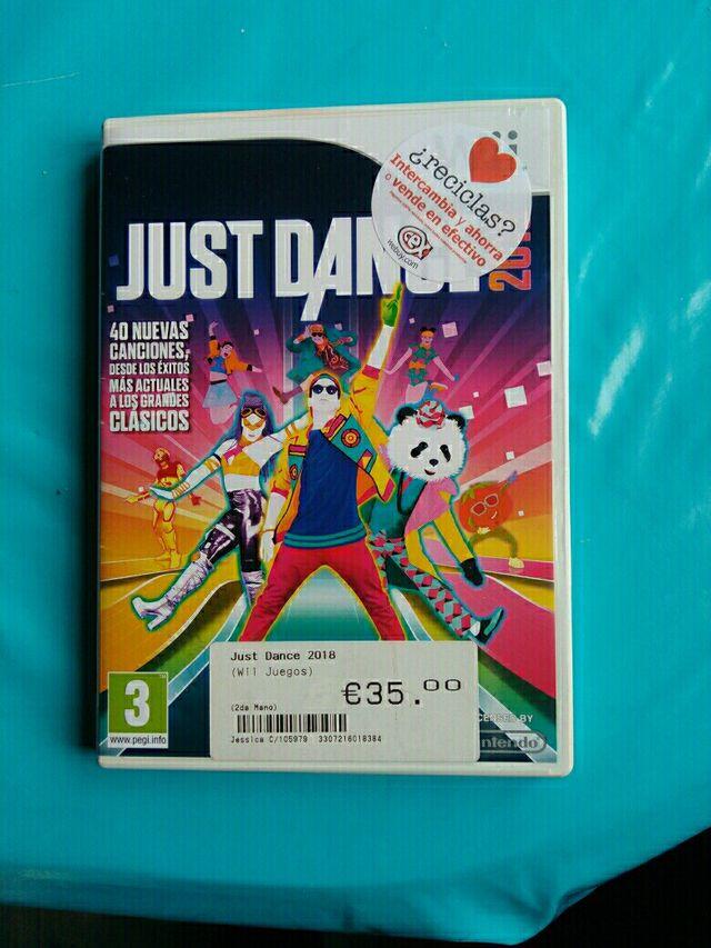 Juego Wii Justificante Dance 2018 De Segunda Mano Por 35 En Leon