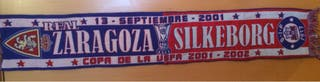 Bufanda Real Zaragoza vs Silkeborg