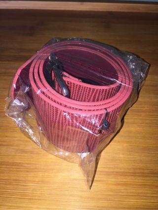 Cinturon Mujer NUEVO rojo