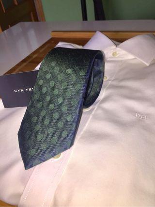 Corbata NUEVA verde