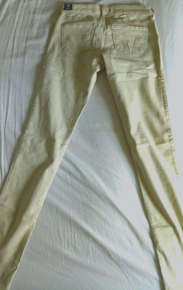 Pantalón Vaquero Hollister