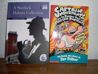 Sherlock Holmes y el Capitán Calzoncillos (ingles)