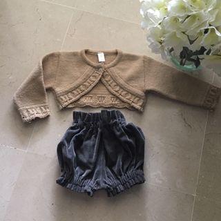 Conjunto de chaqueta y bragota
