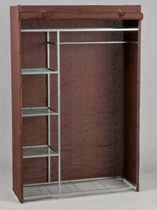 armario metalico con funda de tela