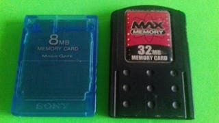 playstation 2 tarjetas de memoria