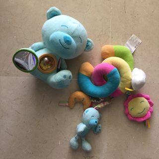 Pack juguetes nenuco