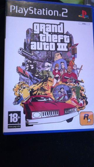 Juegos play2 gran theft auto3