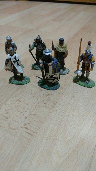 Soldados romanos de plomo
