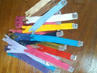 1000 cremalleras relampago surtidas en colores