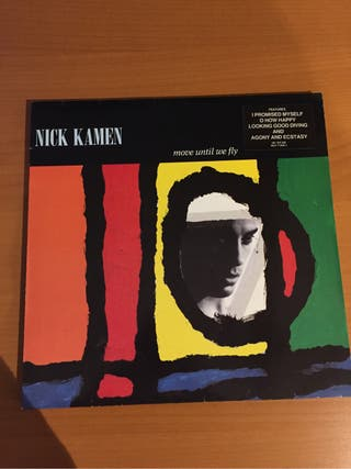 Vinilo Nick Kamen. Move until we fly