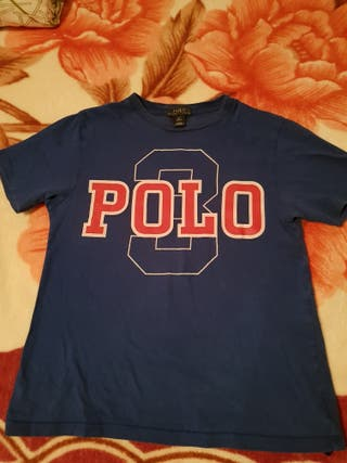 camiseta POLO ralph lauren niño talla M