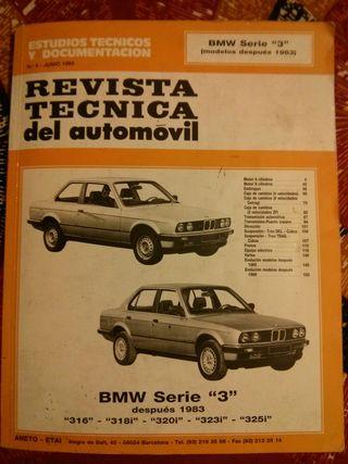 BMW manual de taller Serie3 1983-1992