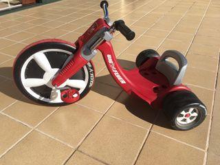 Triciclo big flyer color rojo