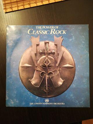 Disco de vinilo classic rock