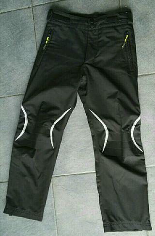 Pantalón impermeable niño niña talla 8